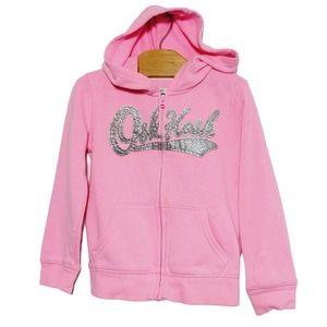 OshKosh B'Gosh Neon Pink Hoodie 3T